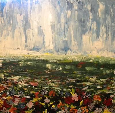 Painter Mixed Media - Wildflowers by Carmen Kolcsar