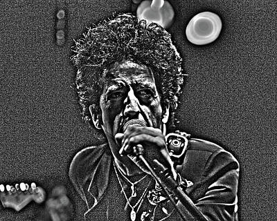 Willie Nile Art Print by Jeff Ross
