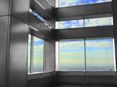Windows To Tokyo Art Print by Roberto Alamino
