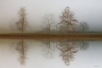 Refection Photograph - Winter Prelude by Ron Jones