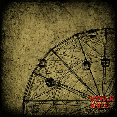 Royalty-Free and Rights-Managed Images - Wonder Wheel by Evelina Kremsdorf