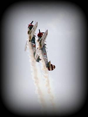 Photograph - Yak Aerostar 52 Stunt Team by David Dunham