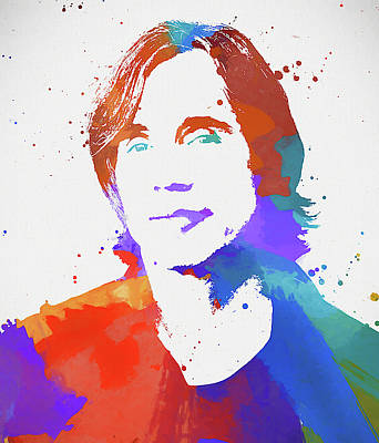 Recently Sold - Music Paintings - Jackson Browne by Dan Sproul