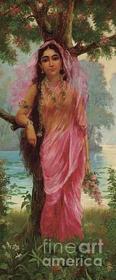 Painting - Vasantasena by Raja Ravi Varma