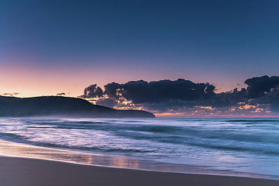 Ethereal - Early Morning by the Sea by Merrillie Redden