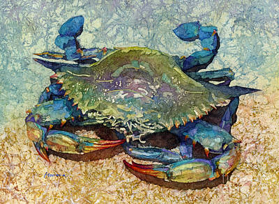 Royalty-Free and Rights-Managed Images - Blue Crab by Hailey E Herrera