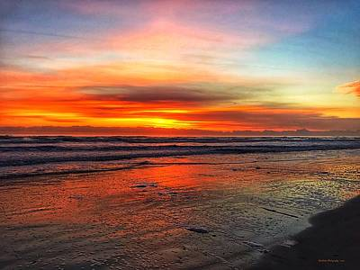 Wild Weather - Daytona Crayola Sunrise by Roe Rader