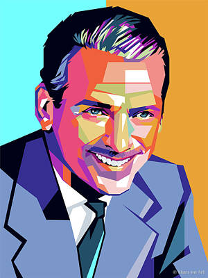 Royalty-Free and Rights-Managed Images - Douglas Fairbanks Jr. by Stars on Art