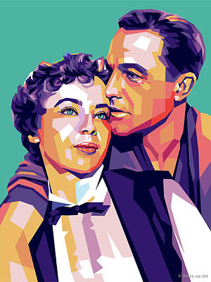 Royalty-Free and Rights-Managed Images - Leslie Caron and Gene Kelly by Stars on Art