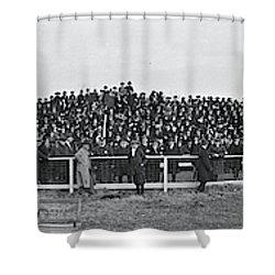 George Washington University  Fans  Vs Shower Curtain