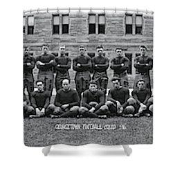 Georgetown U Football Squad Shower Curtain