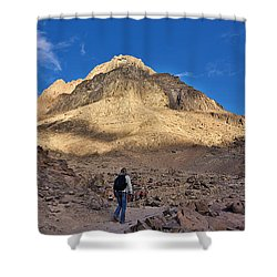 Mount Sinai Shower Curtain