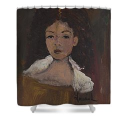 Autumn Walking Shower Curtain by Laurie L
