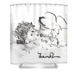 Timeless Love Shower Curtain by Laurie L
