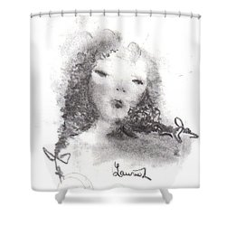 Yesterday Shower Curtain by Laurie L