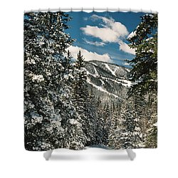 Fresh Powder Shower Curtain