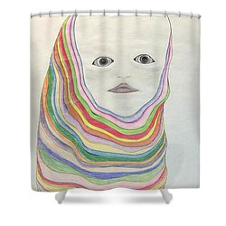 The Masks Shower Curtain