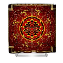 Agni 2012 Shower Curtain