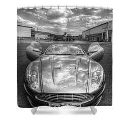 Aston Martin Dbs Shower Curtain