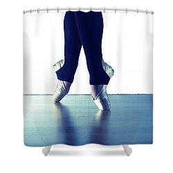 Ballet Feet 1 Shower Curtain by Scott Sawyer