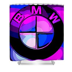 BMW Shower Curtain by George Pedro