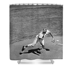 Bob Gibson (1935- ) Shower Curtain by Granger