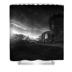 Bradgate Park At Dusk Shower Curtain