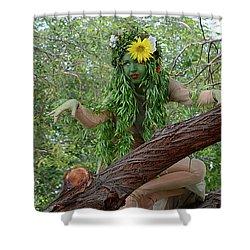 California Girl Shower Curtain by Bob Christopher
