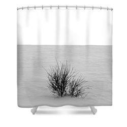 Deep Breath Shower Curtain by Jerry Cordeiro