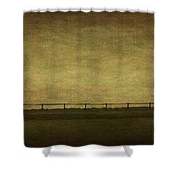 Farscape Shower Curtain by Evelina Kremsdorf