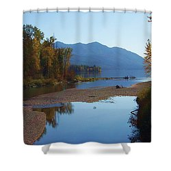 Glacier Park 11 Shower Curtain