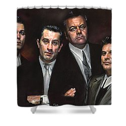 Goodfellas Shower Curtain by Ylli Haruni