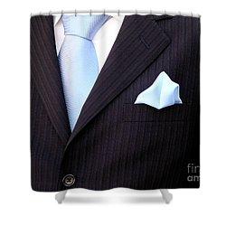 Groom's Torso Shower Curtain by Carlos Caetano