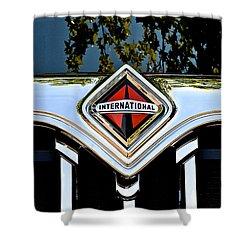 International Truck Shower Curtain