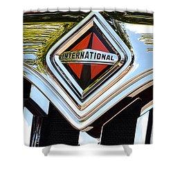 International Truck II Shower Curtain