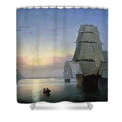 Lane: Boston Harbor Shower Curtain by Granger