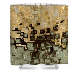 Living In The Past Shower Curtain by Mark Lawrence