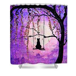 Make A Wish Shower Curtain by Natalie Briney