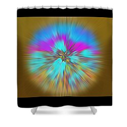 Mirage. Unique Art Collection Shower Curtain by Oksana Semenchenko