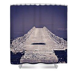 Overseas Railroad II Shower Curtain