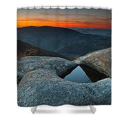 Sanctuary Shower Curtain by Evgeni Dinev