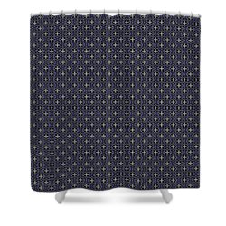 Shower Curtain featuring the painting Starlight Crows by Kym Nicolas