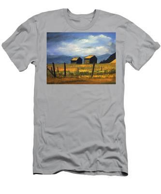 Kila Barns Men's T-Shirt (Athletic Fit)