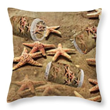 Seastar Large Banner Throw Pillow by Betsy Knapp