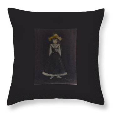 Just A Beautiful Country Girl... Throw Pillow