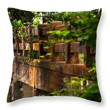 Old Joshua Highway Throw Pillow