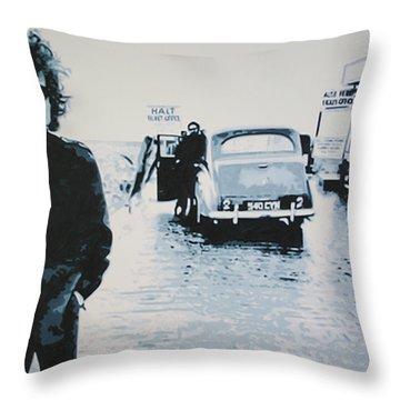 No Direction Home Throw Pillow
