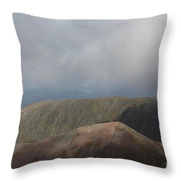 Ben Nevis Throw Pillow