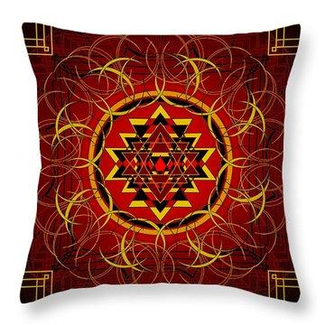 Agni 2012 Throw Pillow