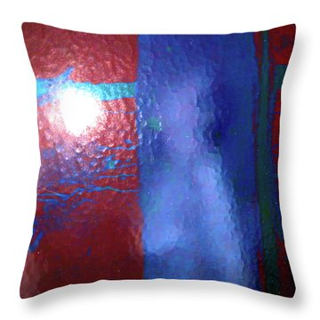 Alternate Reality Meets Naked Truth 3 Throw Pillow by Lenore Senior